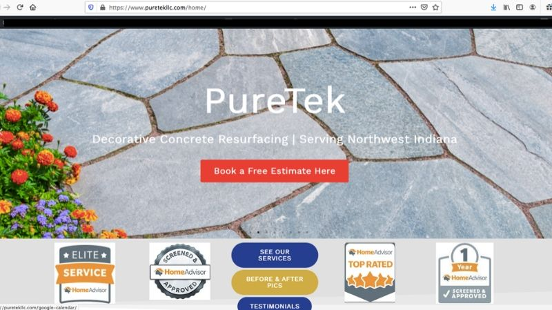 Puretek | Website built by SEO Asheville
