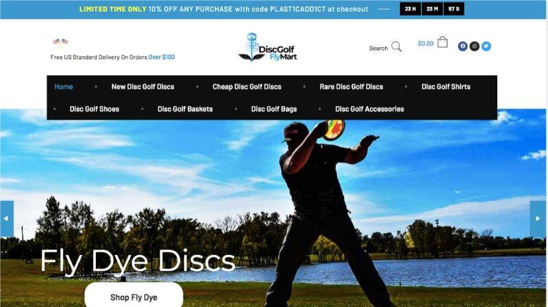 Disc Golf Fly Mart | Website Built by SEO Asheville